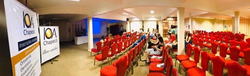 Profissionais e acadêmicos conhecem IOA Chapecó (SC) em Première exclusiva