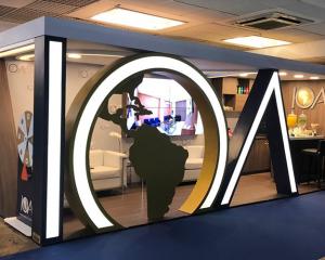 Rede IOA marca presença com estande premium no IN2019